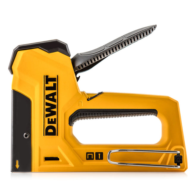 Product Photo Of A DeWalt Yellow Stapler