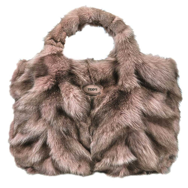 Product Photography Of Tods Fur Handbag
