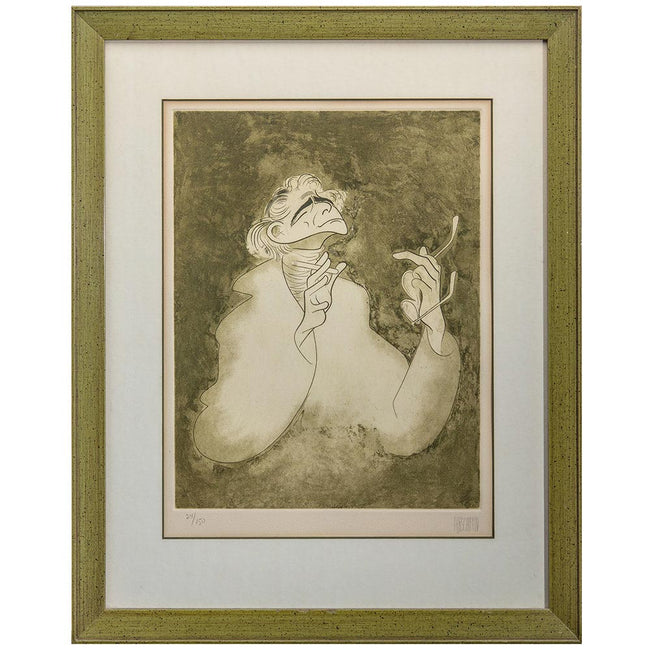 Product Photography Of Hirschfeld Lithograph