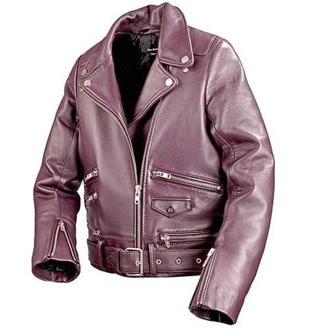 Invisible Mannequin Product Photography Of Red Leather Jacket