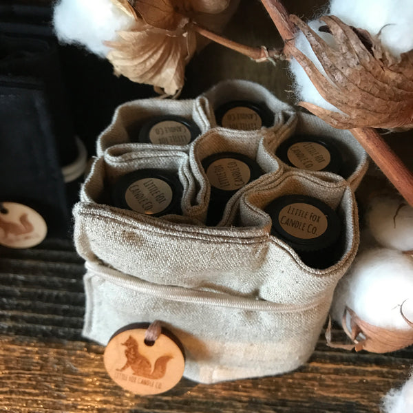 Linen EO Bottle Wraps