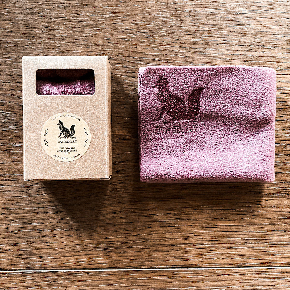 ECO-CLOTHS (rose)<br>antibacterial