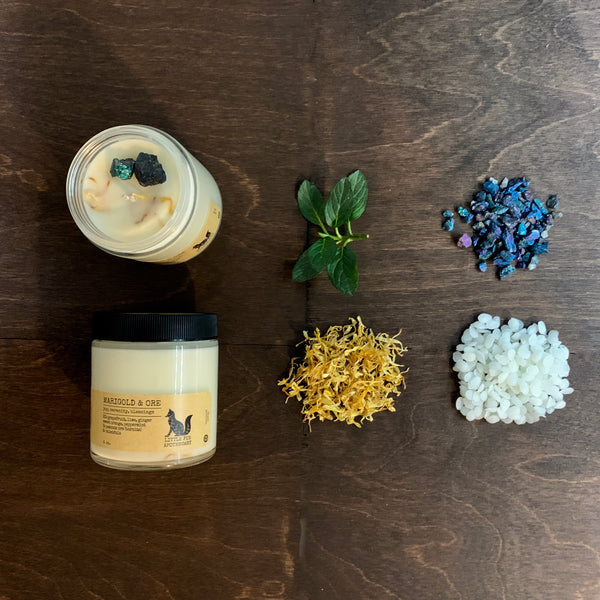 MARIGOLD & ORE<br>soy candle