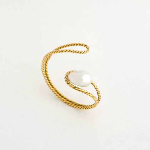 South Sea Baroque Pearl Gold Bracelet