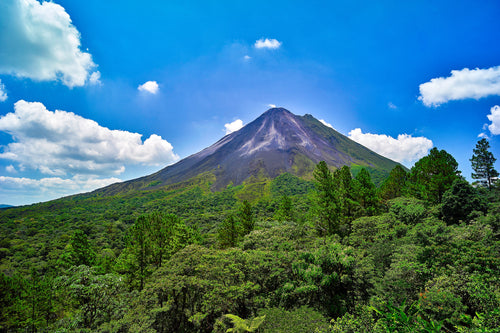 Rare Event at Arenal Volcano