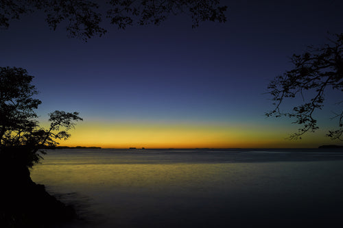 Blue Hour Sunrise Boca Brava Island