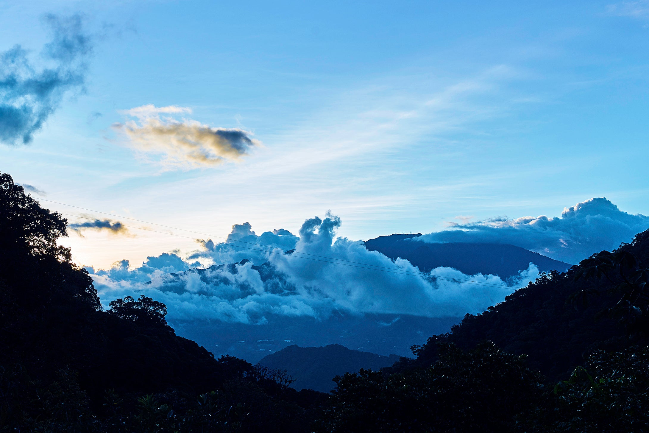 Cloud Forest Sunset