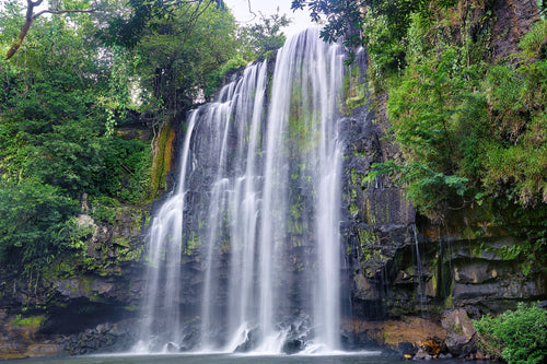 Llanos Del Cortes Waterfall, View 2 - Costa-Rica