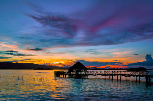 Sunset at Yandup San Blas - Panama