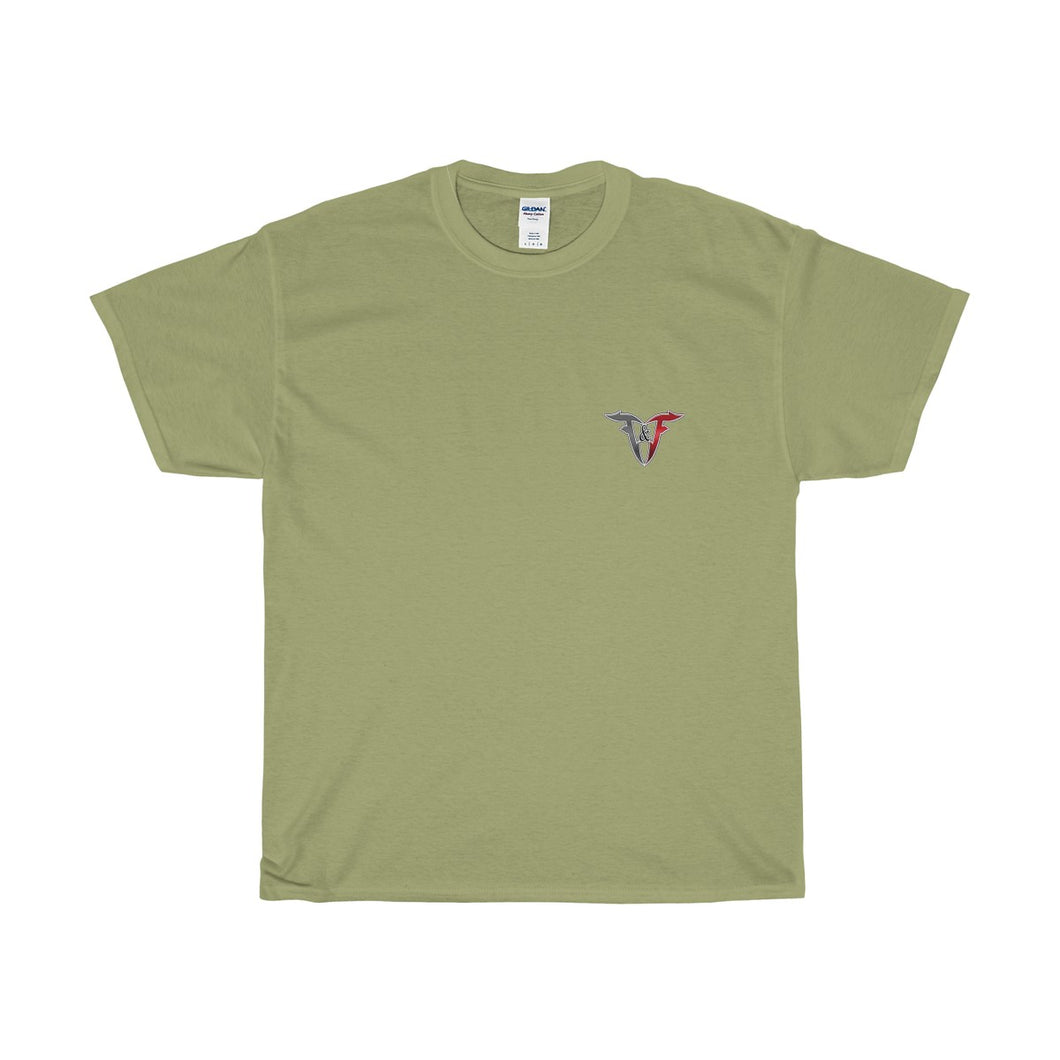 FF LOGO - Two Sided Light Color T-Shirt