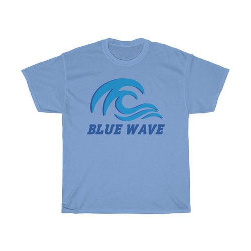 BLUE WAVE - Light color t-shirt