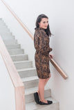 Shirt Dress - Animal Print