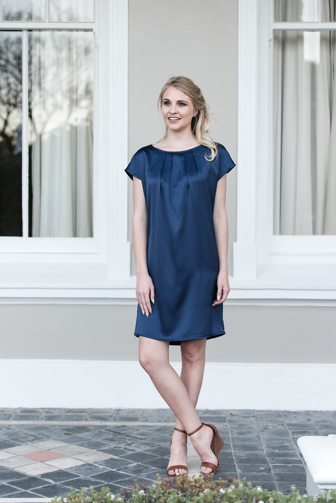 Shore Leave Dress - Royal Blue
