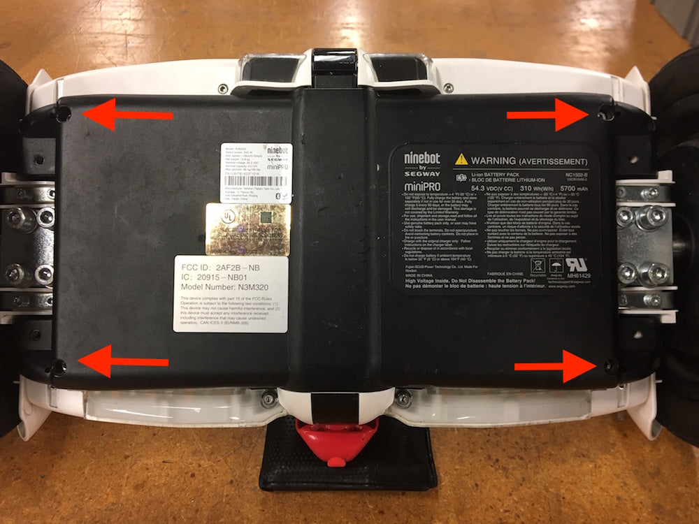 Battery Replacement on Segway miniPRO