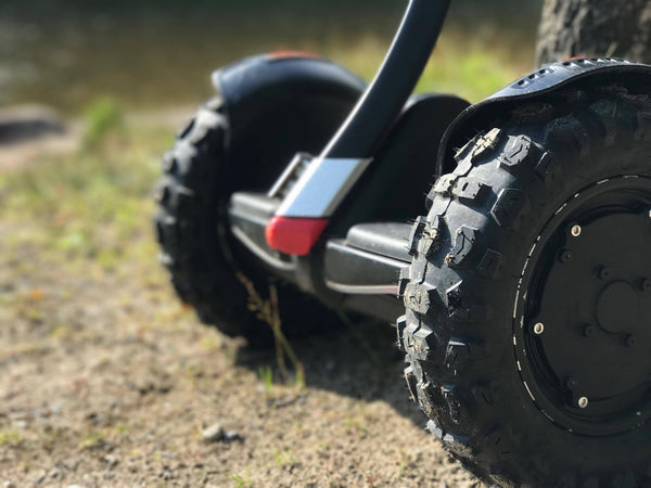 Segway Mini pro Off road tires with More4Mini Fenders