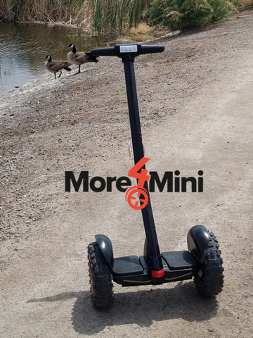 Segway MiniPro with off road tires More4Mini