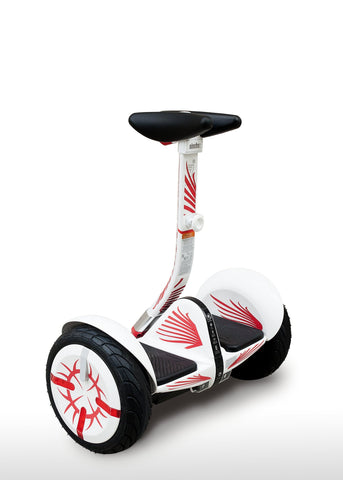 M4M Segway miniPRO Customization Kit - Flames - M4M-Europe