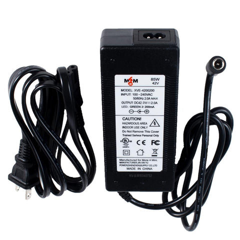 Power Charger for Segway miniLITE, ES1 and ES2 - M4M-Europe