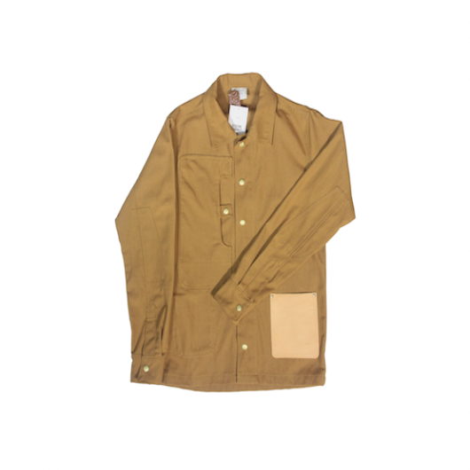 Calculated work shirt- Tan