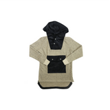 Calculated Sailor Hoodie- Black & Tan