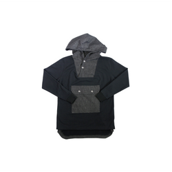 Calculated Sailor Hoodie- Black