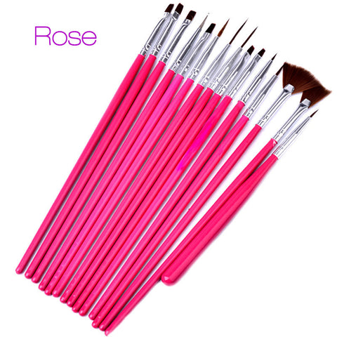 Nail art brush set teedees top deals nail art brush set prinsesfo Gallery