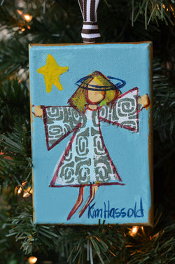 Angel Ornament 4 - 4x6