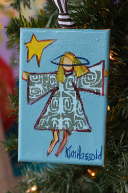 Angel Ornament 5 - 4x6