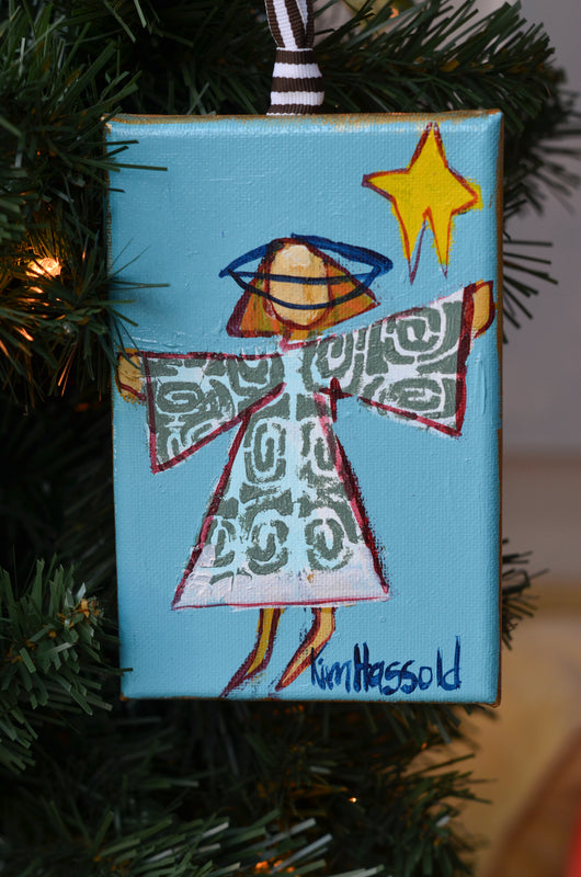 Angel Ornament 6 - 4x6
