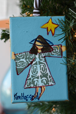 Angel Ornament 7 - 4x6