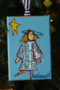 Angel Ornament 8 - 4x6