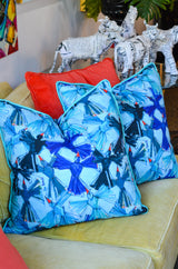 Blue Birds Pillow