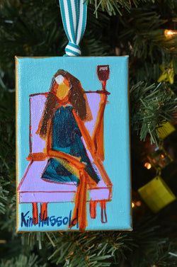 Girl Ornament 4 - 4x6