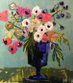 All the Flowers - 48x48