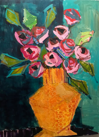 Pink Roses - 30x40