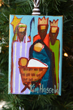 Nativity Ornament 11 - 4x6