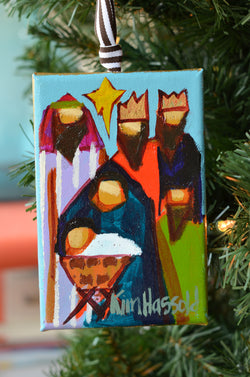 Nativity Ornament 12 - 4x6