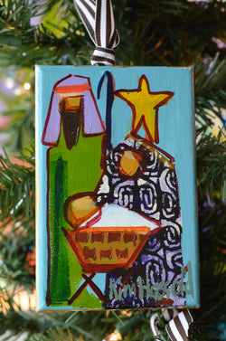 Nativity Ornament 1 - 4x6