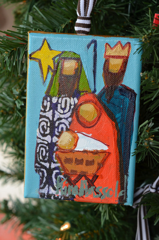 Nativity Ornament 5 - 4x6