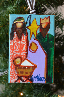 Nativity Ornament 7 - 4x6