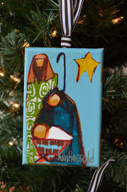 Nativity Ornament 9 - 4x6