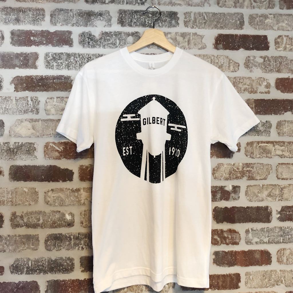 Iconic AZ Gilbert Water Tower White Tee