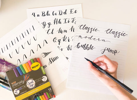Brush Pen Lettering - At Home Workshop