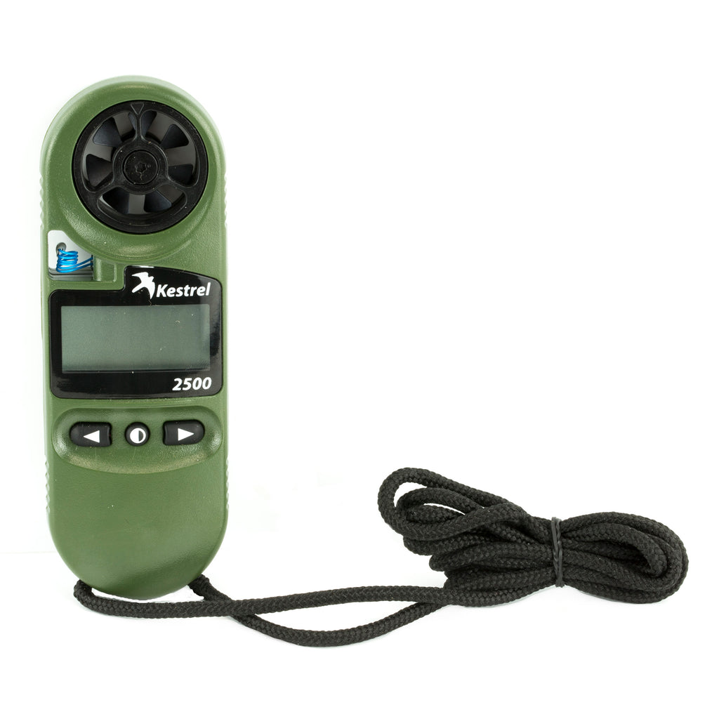 weather meter - RSR Group - Kestrel 2500NV Electronic Hand Held Weather Meter - a-j-sporting