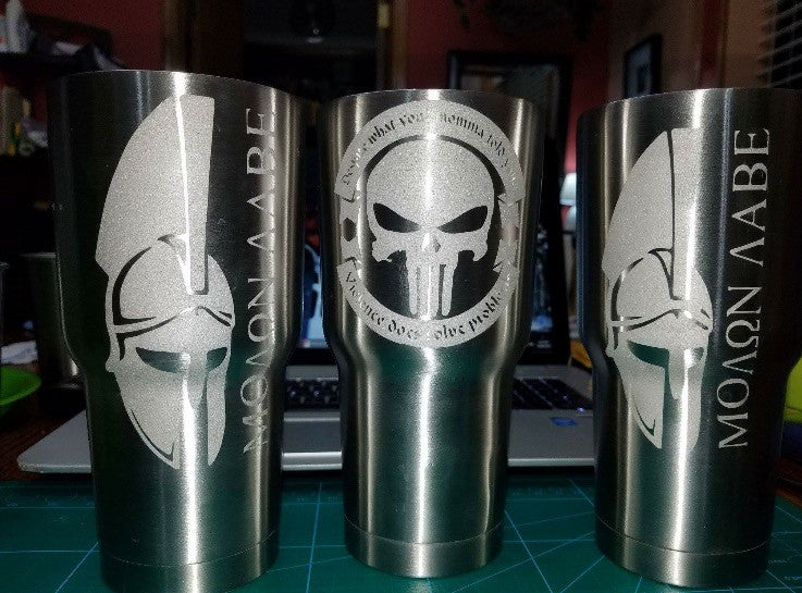 RTIC Etched Tumbler - A&J Sporting