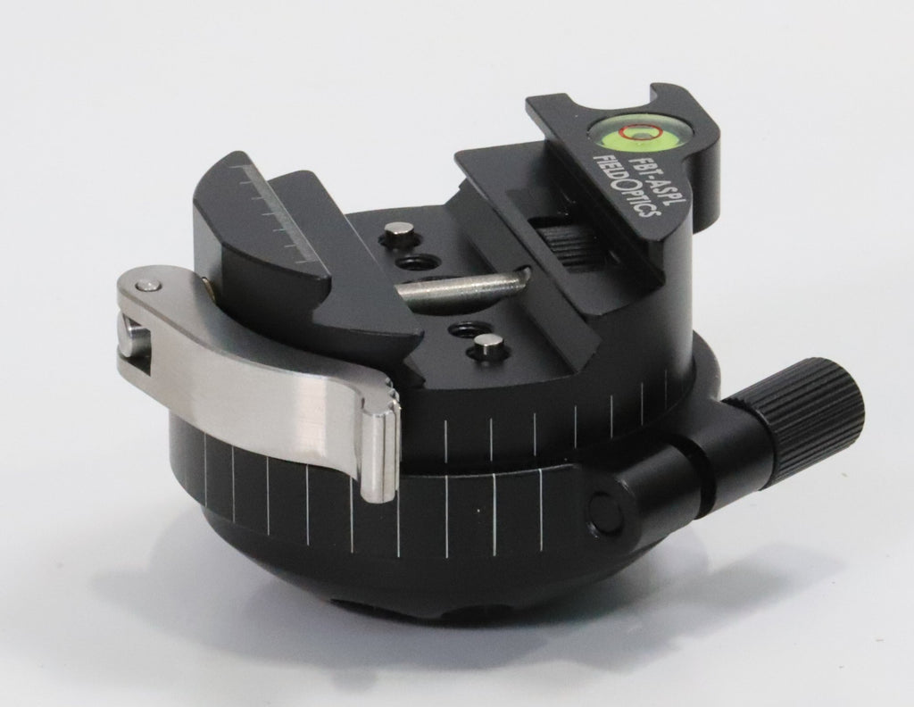 Tripod accessory - Field Optics Research - Arca Swiss-Picatinny Lever Clamp with Pan Axis - a-j-sporting