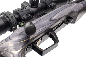 bottom metal - Anarchy Outdoors - CZ 455 Bottom Metal with Barricade Stop - a-j-sporting
