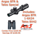 Athlon Scope/ Talos Binocular Combo