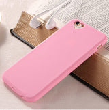 Case for iPhone 5S 5 SE 6 6S Plus Candy Color Loving Heart