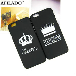 Case for iPhone 6 6s 5 5s SE King Queen